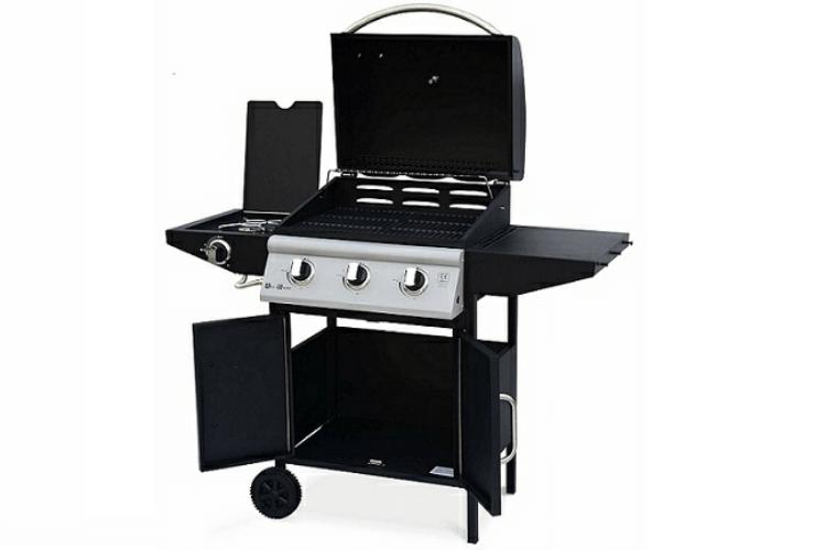 alices-garden-athos-barbecue-à-gaz-amis-brochettes-grill-jardin-grillades-saucisses-viande-cuisson-plancha-avis-guide